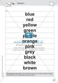 Spielideen: Flashcards zum Thema Colours Preview 12