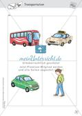 Spielideen: Flashcards zum Thema Transportation Preview 11