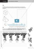 Das Bauen von Modellen: Zeichnung von Netzen und Schrägbildern Preview 10