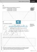 Das Bauen von Modellen: Zeichnung von Netzen und Schrägbildern Preview 11