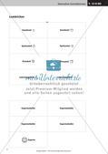 Verfassen von Steckbriefen und Spickzetteln Preview 6