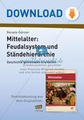 Mittelalter: Feudalsystem und Ständehierarchie Preview 1