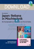 Mit Kunstprojekten um die Welt: Japan/Ikebana Preview 1