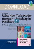 Mit Kunstprojekten um die Welt: New York/Modemagazin Preview 1