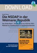Die NSDAP in der Weimarer Republik Preview 1