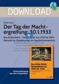 Das Dritte Reich: Der Tag der Machtergreifung/30.1.1933 Preview 1
