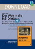 Das Dritte Reich: Der Weg in die NS-Diktatur Preview 1
