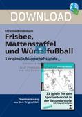Frisbee, Mattenstaffel und Würfelfußball Preview 1