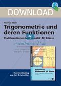 Trigonometrie und deren Funktionen Preview 1