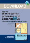 Wachstumsprozesse und Logarithmus Preview 1