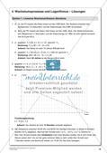 Wachstumsprozesse und Logarithmus Preview 24