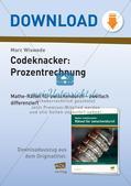 Codeknacker: Prozentrechnung Preview 1