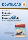 Der Beginn der Neuzeit: Das neue Weltbild Preview 1