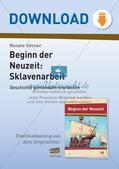 Der Beginn der Neuzeit: Die Sklavenarbeit Preview 1