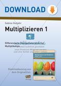 Multiplikation: Einführung Preview 1