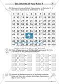 Multiplikation: Einmaleinsreihen Preview 12