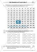 Multiplikation: Einmaleinsreihen Preview 15