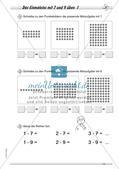 Multiplikation: Einmaleinsreihen Preview 16