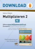 Multiplikation: Einmaleinsreihen Preview 1