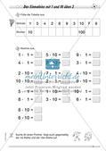 Multiplikation: Einmaleinsreihen Preview 5