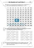 Multiplikation: Einmaleinsreihen Preview 6