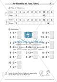 Multiplikation: Einmaleinsreihen Preview 8