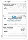Division: Rechnungen mit Rest und Textaufgaben Preview 10