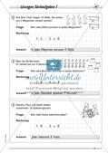 Division: Rechnungen mit Rest und Textaufgaben Preview 11