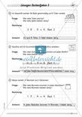 Division: Rechnungen mit Rest und Textaufgaben Preview 15