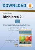 Division: Rechnungen mit Rest und Textaufgaben Preview 1