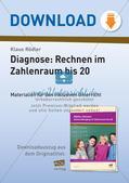 Diagnosetest: Grundrechenarten im Zahlenraum 20 Preview 1