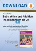 Subtraktion im Zahlenraum bis 20 Preview 1
