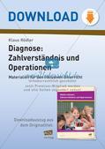 Diagnose: Zahlverständnis und Operationen Preview 1