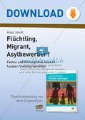 Flüchtling, Migrant, Asylbewerber: Begriffsklärung Preview 1