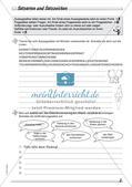 Wort und Wortarten: Satzarten, -zeichen und -glieder Preview 4