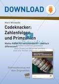 Codeknacker: Zahlenfolgen und Primzahlen Preview 1