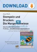 Stempeln und Drucken: Die Margeritenwiese Preview 1