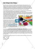 Stempeln und Drucken: Fliegende Schirmchen Preview 3