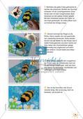 Stempeln und Drucken: Lustige Hummel Preview 17
