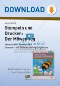 Stempeln und Drucken: Der Möwenflug Preview 1