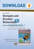 Stempeln und Drucken: Winterbilder Preview 1