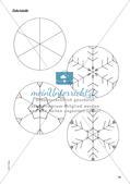 Stempeln und Drucken: Eiskristalle Preview 17