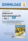 Addieren & Subtrahieren bis 20 Preview 1