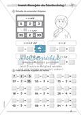 Addition und Subtraktion im Zahlenraum bis 100: Teil 1 Preview 8