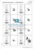 Musiktheorie-Spiele: Violin- und Bassschlüssel-Domino Preview 10