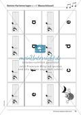 Musiktheorie-Spiele: Violin- und Bassschlüssel-Domino Preview 15