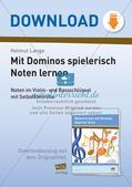 Musiktheorie-Spiele: Violin- und Bassschlüssel-Domino Preview 1