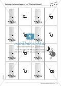 Musiktheorie-Spiele: Violin- und Bassschlüssel-Domino Preview 8