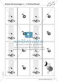 Musiktheorie-Spiele: Violin- und Bassschlüssel-Domino Preview 9