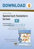 Musiktheorie-Spiele: Dur-Tonleiter Preview 1